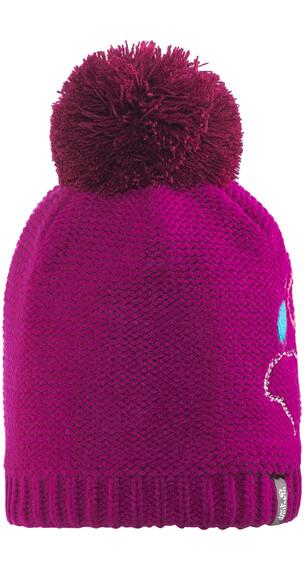 Jack Wolfskin Paw Knit Dzieci różowy